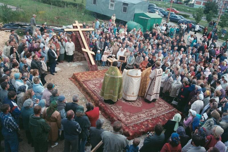 П-Н. Освящение креста