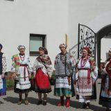 Выступление фольклорных коллективов