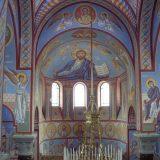 Вена. Интерьер храма свт. Николая