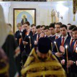 Хоккеисты на молебне