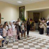 Выступают дети Воскресной школы