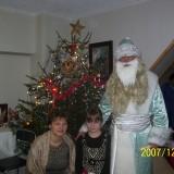 С Рождественским Дедом Морозом