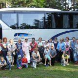 Группа участников поездки в Вентспилс