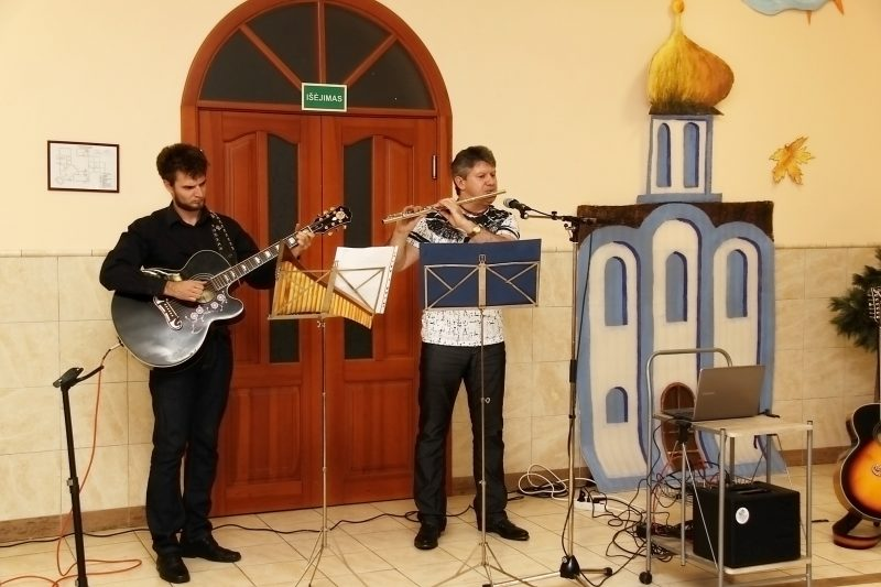 Артур Бельский и Александр Обозный (справа)