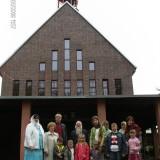 Посещение Всехсвятского храма 10.05.2009