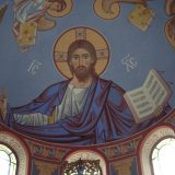 Пантократор. Роспись апсиды храма св. Николая